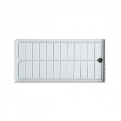 Danish trolley water tray white